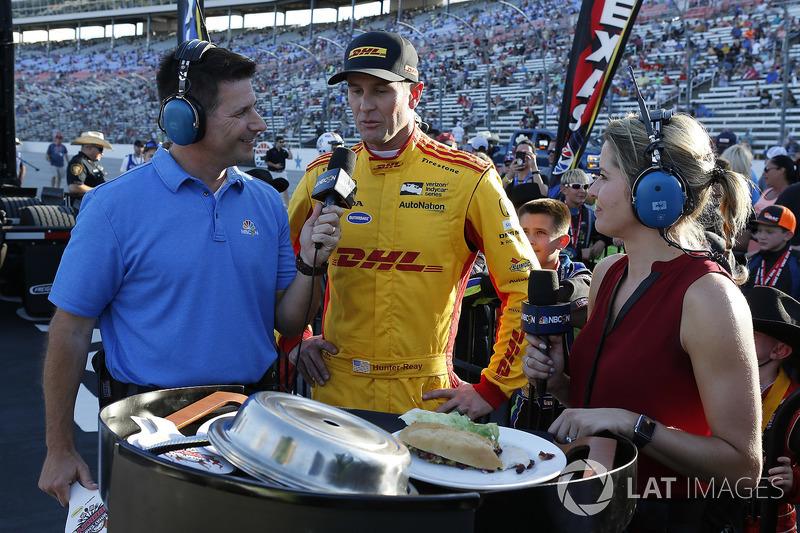 Ryan Hunter-Reay, Andretti Autosport Honda appare nell'episodio inaugurale di