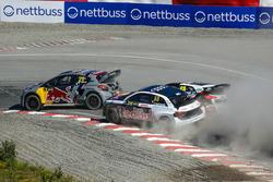 Timmy Hansen, Team Peugeot Total, Andreas Bakkerud, EKS Audi Sport