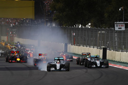 Verbremser: Lewis Hamilton, Mercedes F1 W07 Hybrid