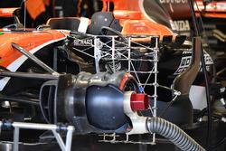 McLaren MCL32: Aufhängung