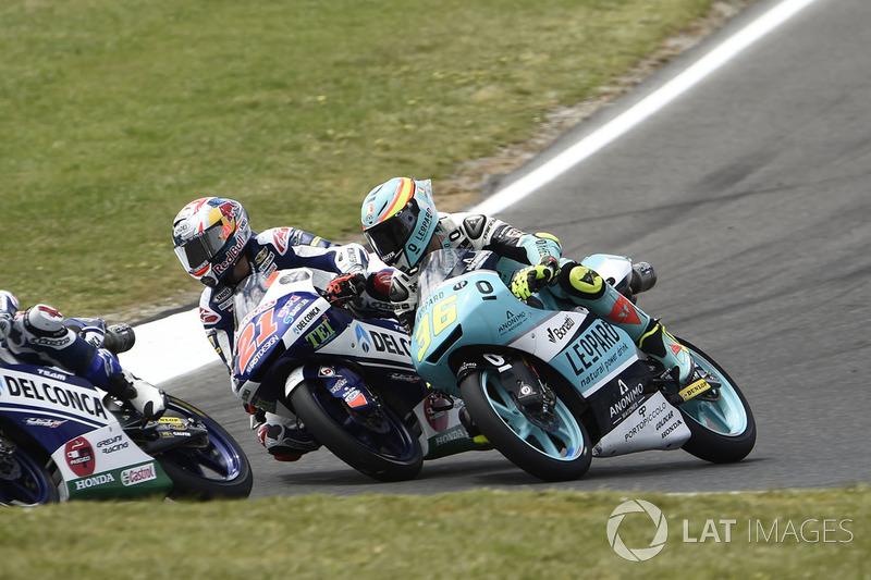 Joan Mir, Leopard Racing, Fabio Di Giannantonio, Del Conca Gresini Racing Moto3