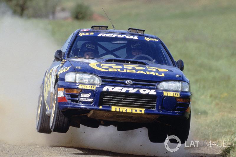 Carlos Sainz, Luis Moya, Subaru Impreza