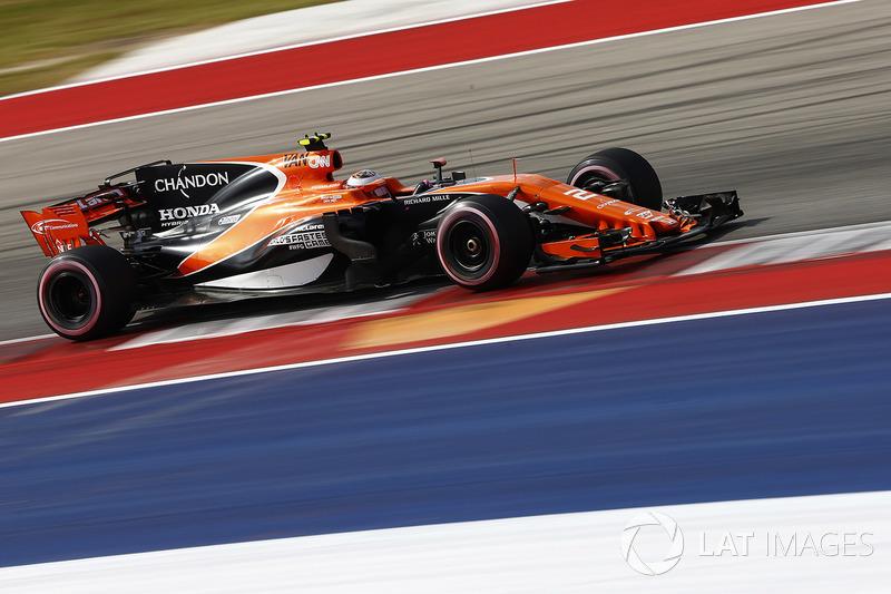14. Stoffel Vandoorne, McLaren MCL32 *