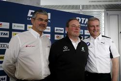 Пресс-конференция: глава DTM Audi Sport Дитер Гасс, руководитель HWA Team Ульрих Фриц и директор BMW Motorsport Йенс Марквардт