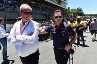 Jerome Stoll, Direktör, Renault Sport F1 ve Christian Horner, Red Bull Racing Takım Patronu