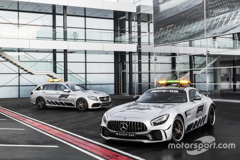Mercedes-AMG GT R, Safety Car oficial da F1 2018