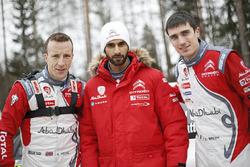 Kris Meeke, Khalid Al-Qassimi, Craig Breen, Citroën World Rally Team