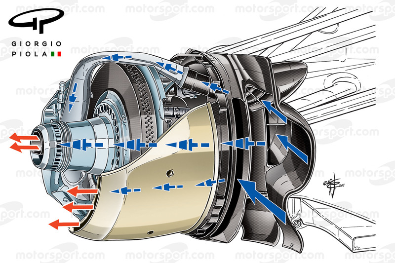 "Williams FW35 ""B"" Duct"