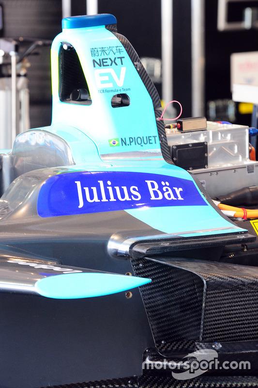 Auto van Nelson Piquet Jr., NEXTEV TCR Formula E Team
