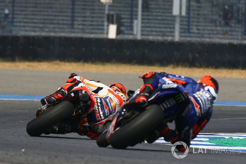 Марк Маркес, Repsol Honda Team та Маверік Віньялес, Yamaha Factory Racing