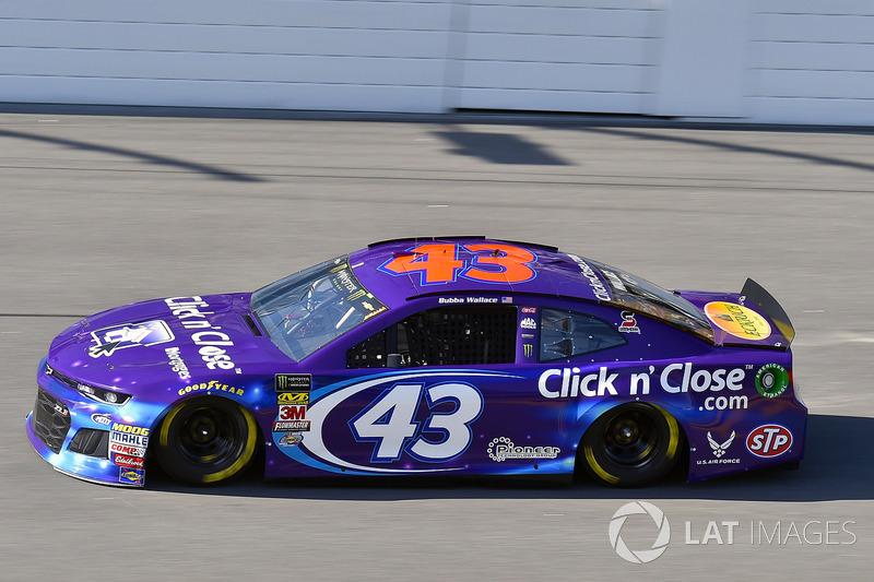 7. Деррел Воллес-мол., No. 43 Richard Petty Motorsports Chevrolet Camaro