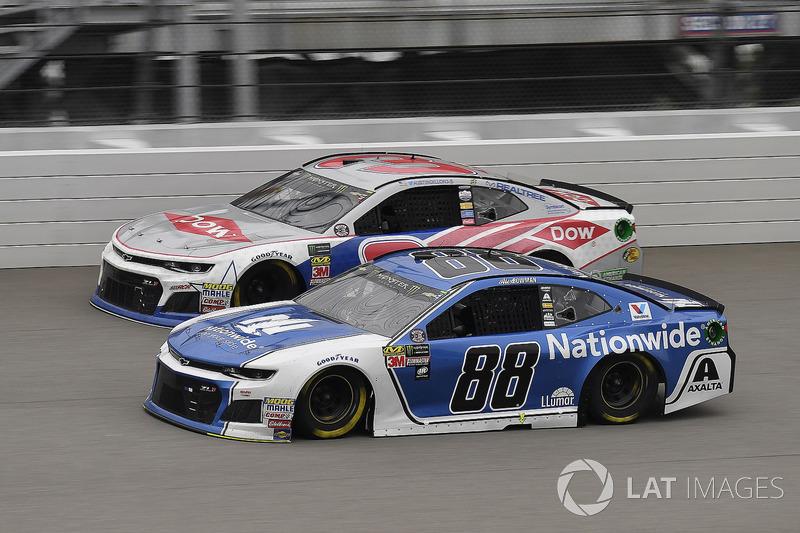 Alex Bowman, Hendrick Motorsports, Chevrolet Camaro Nationwide and Austin Dillon, Richard Childress