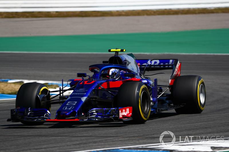 16: Pierre Gasly, Toro Rosso STR13, 1'13.749