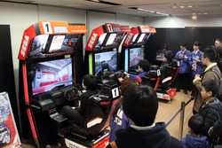 「SEGA World Drivers Championship」の先行体験コーナー