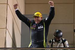 Podium LMGTE AM: winnaar Paul Dalla Lana, Aston Martin Racing