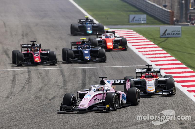 Maximilian Gunther, BWT Arden, Luca Ghiotto, Campos Vexatec Racing