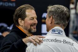 Fredrik Johnsson talks with David Coulthard