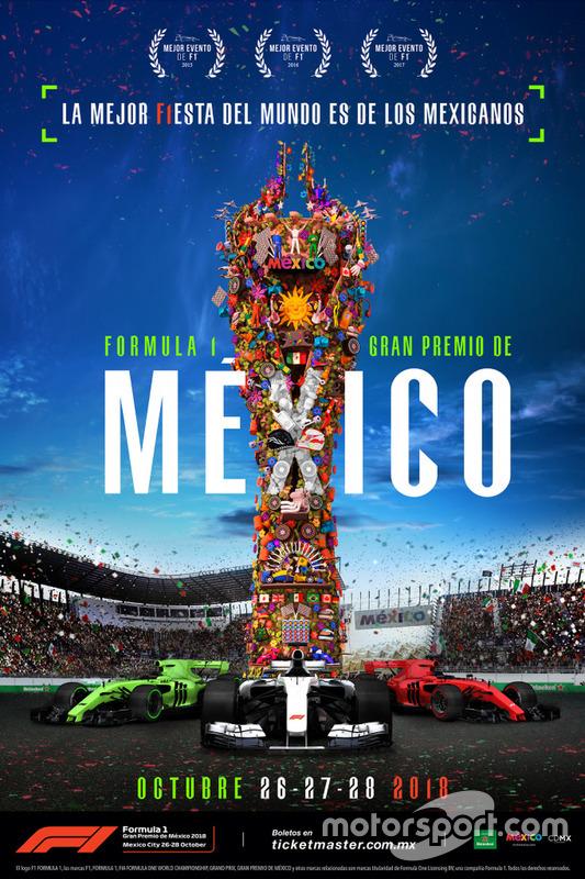 Афіша Гран Прі Мексики-2018