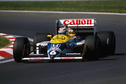 Nelson Piquet, Williams FW11B