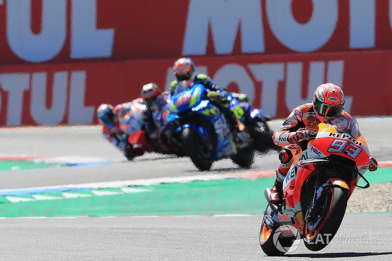 Marc Marquez, Dani Pedrosa, Repsol Honda Team, al comando