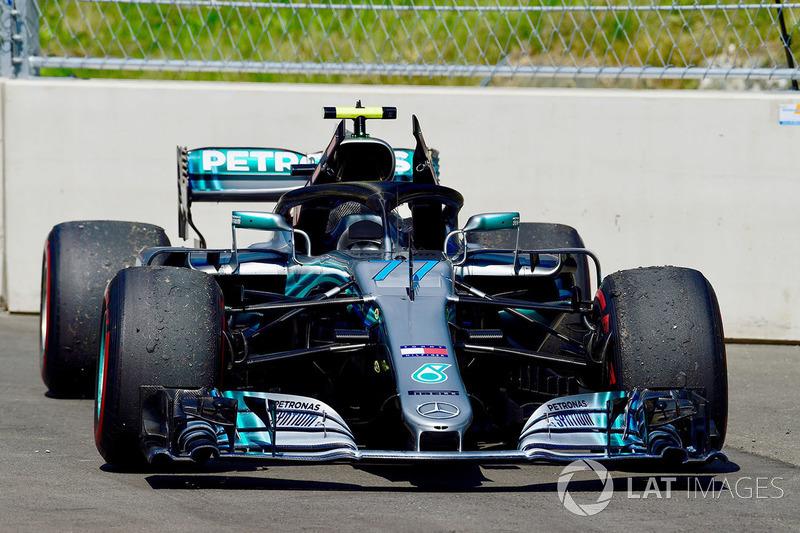 2 місце — Валттері Боттас, Mercedes