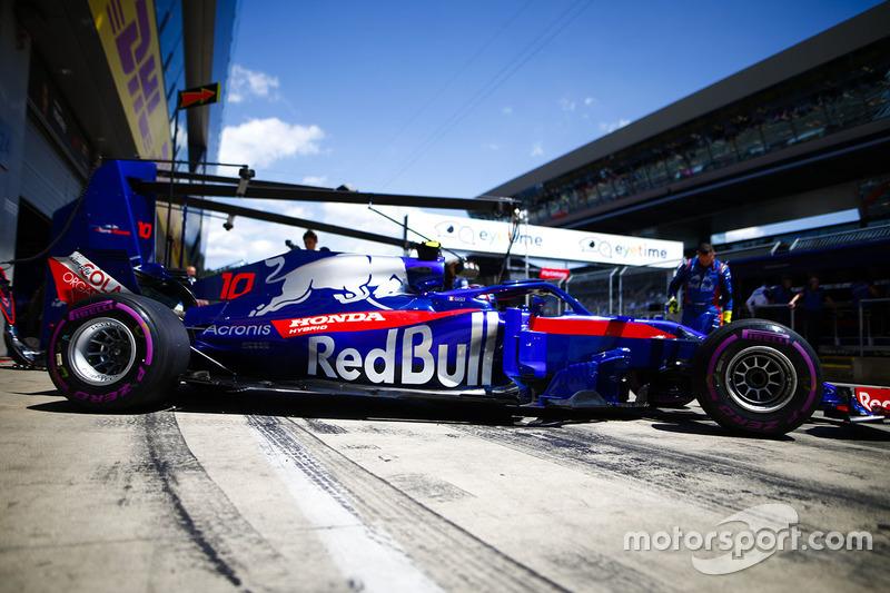 16 місце — П'єр Гаслі (Франція, Toro Rosso) — коефіцієнт 2001,00