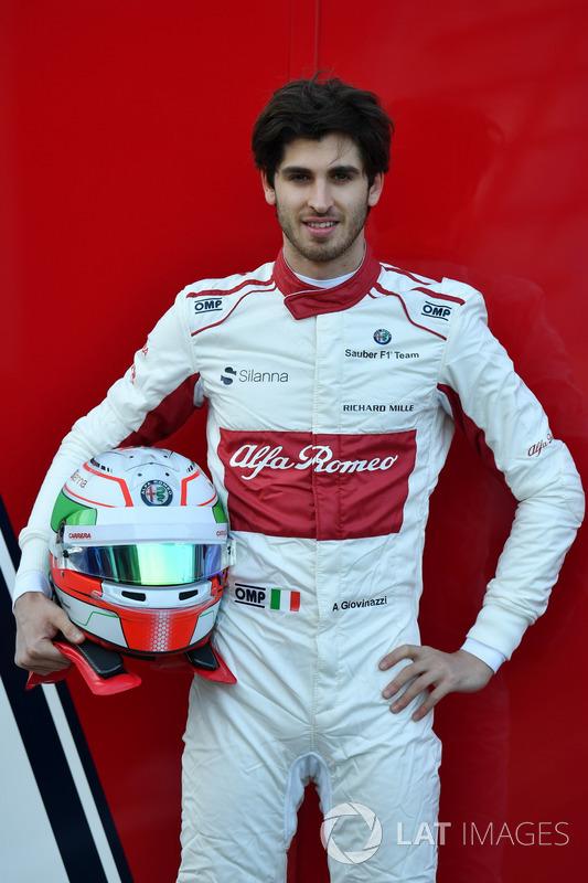 Антонио Джовинацци, Alfa Romeo Sauber