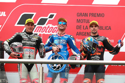 Xavi Vierge, Dynavolt Intact GP Mattia Pasini, Italtrans Racing Team Miguel Oliveira, Red Bull KTM Ajo