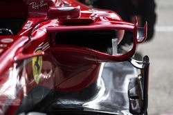 Ferrari SF70H sidepod detayı