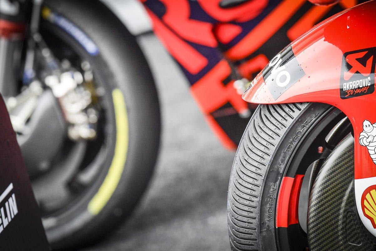 Ducati Team MotoGP tyres detail