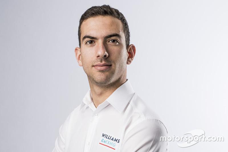 Nicholas Latifi, piloto reserva de Williams Martini Racing