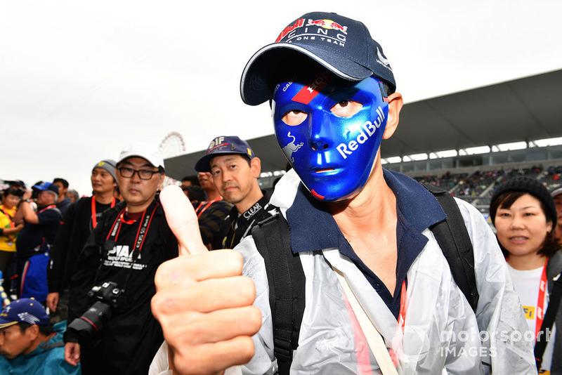 Un fan de Red Bull Racing