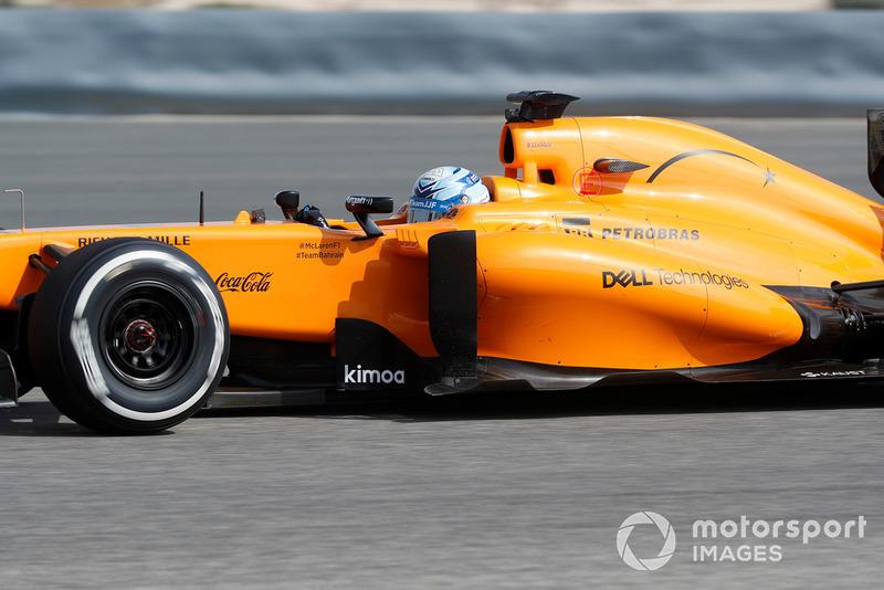 Джиммі Джонсон за кермом машини McLaren