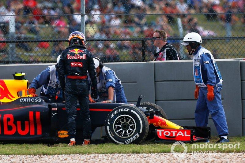 1) Max Verstappen, 2016 United States Grand Prix