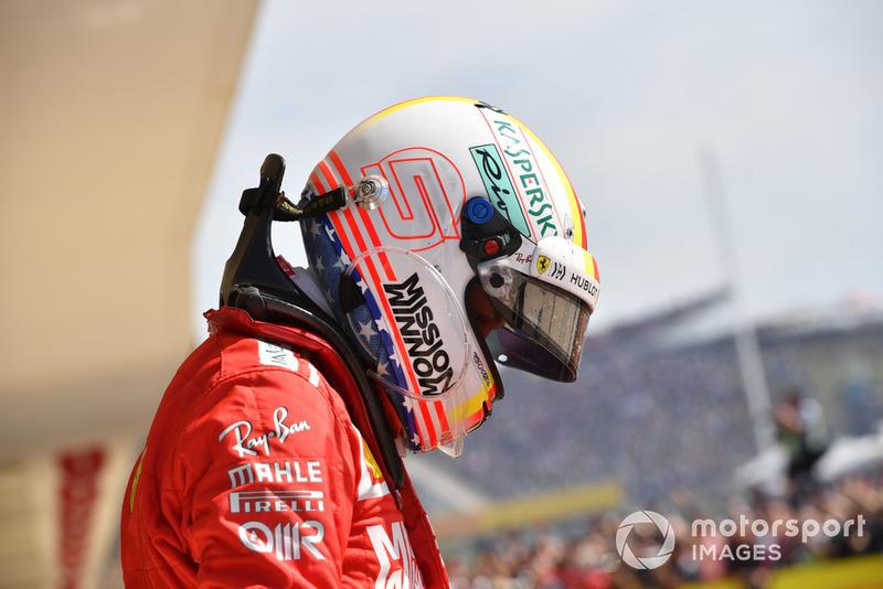 GP Amerika Serikat - Sebastian Vettel