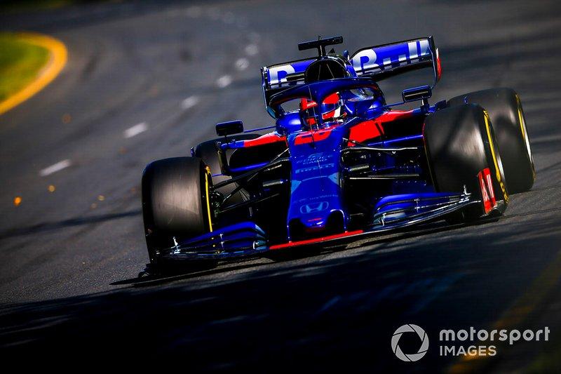 Kvyat suma un punto en su vuelta a la F1