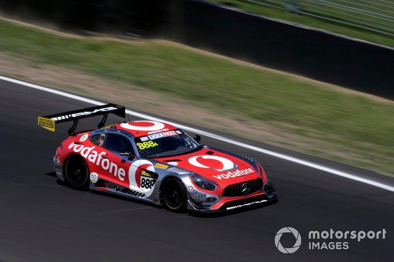 4. #888 Mercedes-AMG Team Vodafone Mercedes AMG GT GT3: Craig Lowndes, Jamie Whincup, Shane van Gisbergen