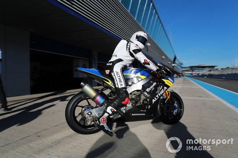 #52 Althea Racing: Alessandro Delbianco