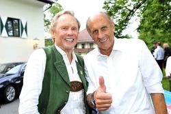 Peter Kraus mit Hans-Joachim Stuck