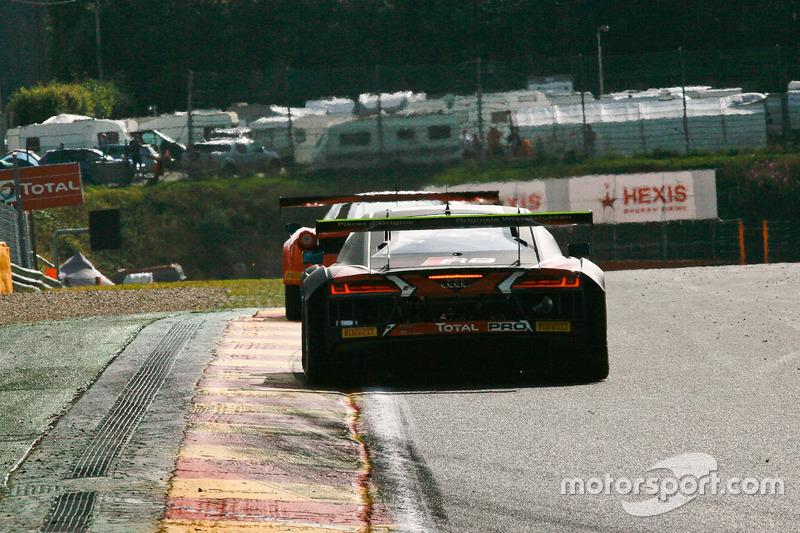 #3 Belgian Audi Club Team WRT Audi R8 LMS: Filipe Albuquerque, Rodrigo Baptista, Sergio Jimenez