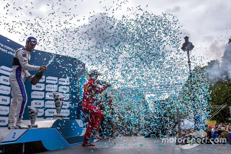 Podium: 1. Lucas di Grassi, ABT Schaeffler Audi Sport; 2. Jean-Eric Vergne, DS Virgin Racing