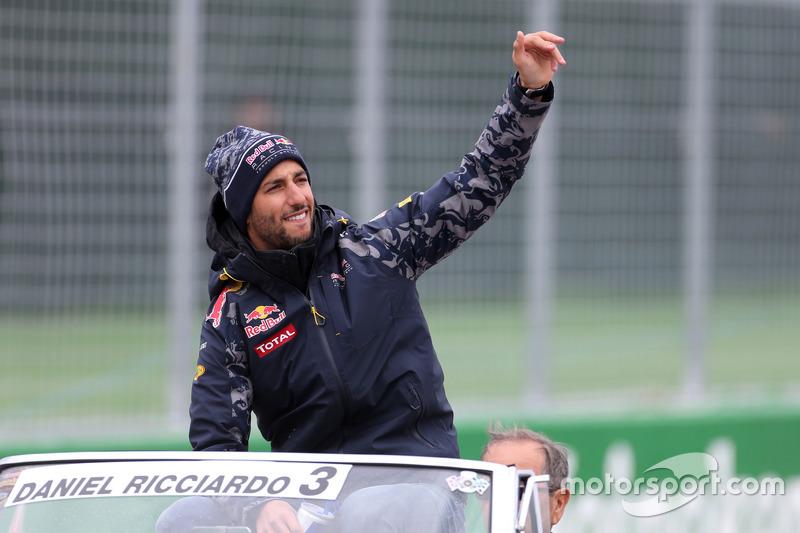 Даніель Ріккардо (Австралія), Red Bull Racing