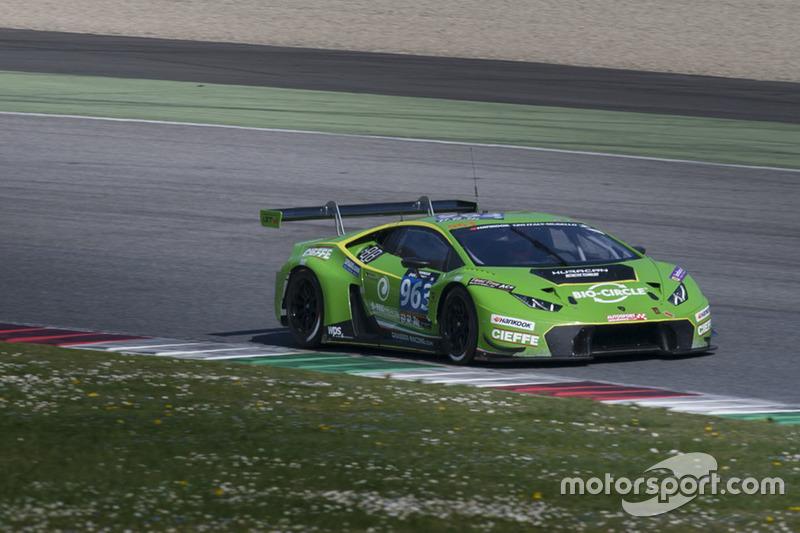 Der neue Lamborghini Huracan GT3 (hier in der 24-Stunden-Serie)
