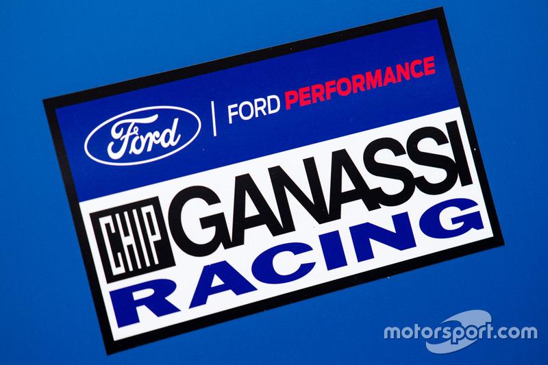 Зона та лого Ford Chip Ganassi Racing