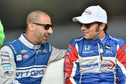 Тоні Канаан, Chip Ganassi Racing Chevrolet, Лука Філіппі, Dale Coyne Racing Honda