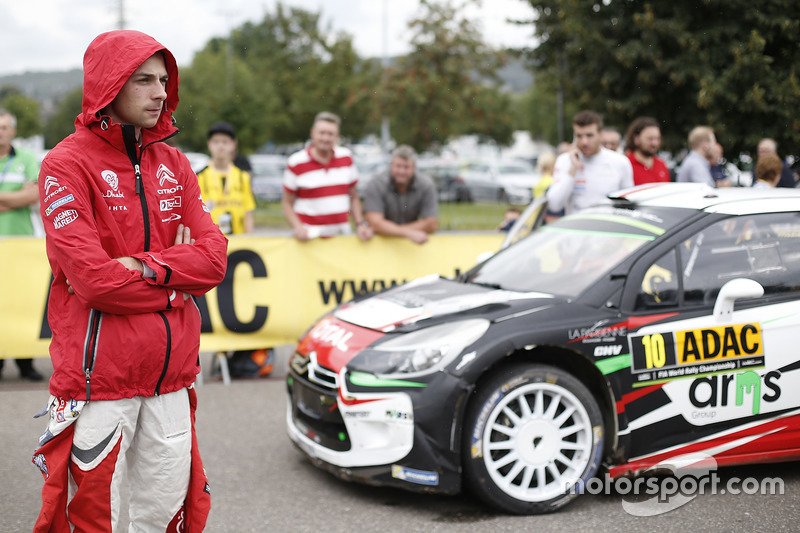 Stéphane Lefebvre, Citroën World Rally Team