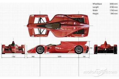 Ken Okuyama Design and Dome Formula E chassis proposal