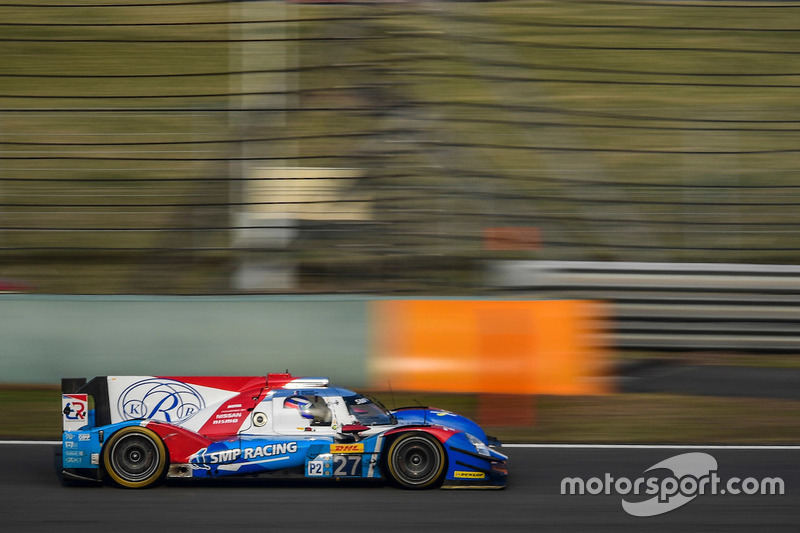 #27 SMP Racing, BR01 Nissan: Maurizio Mediani, Nicolas Minassian, Mikhail Aleshin