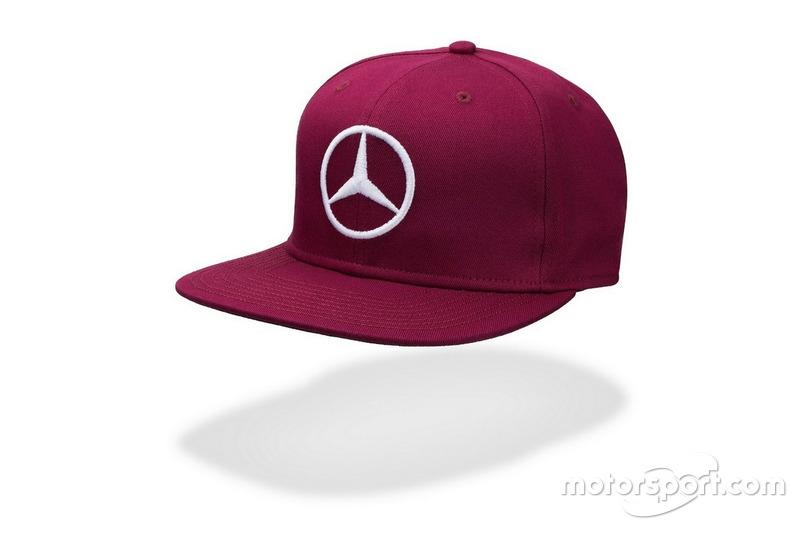 Casquette pourpre de Lewis Hamilton