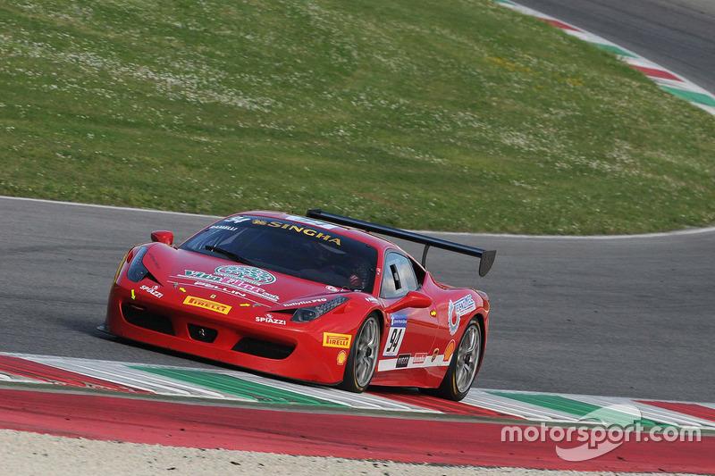 #94 Rossocorsa - Pellin Racing, Ferrari 458: Giuseppe Ramelli
